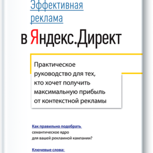 Продается книга: Эффективная реклама в Яндекс.Директ Константин ЖивенковДоставка по всей Украине Новой Почтой по всей Украине (Киев