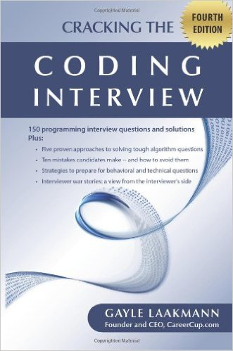 Cracking the code interview