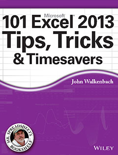 101 Excel 2013 Tips