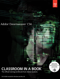 437 грн.| Adobe Dreamweaver CS6 Classroom in a Book