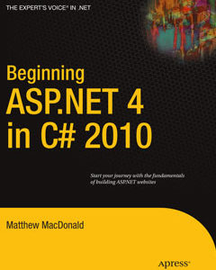 966 грн.| Beginning ASP.NET 4 in C# 2010