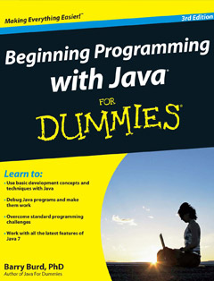 Beginning Programming with Java For Dummies 3rd Edition