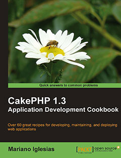 368 грн.| CakePHP 1.3 Application Development Cookbook