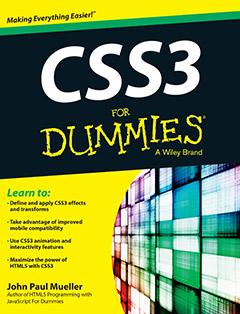 368 грн.  CSS3 For Dummies