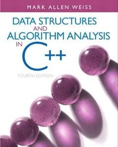 690 грн.| Data Structures & Algorithm Analysis in C++ 4th Edition