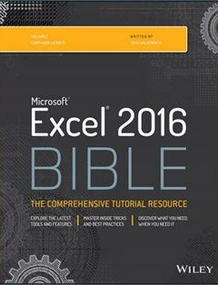 1035 грн.| Excel 2016 Bible 1st Edition