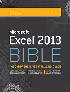 966 грн.| Excel 2013 Bible