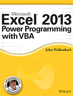 1035 грн.| Excel 2013 Power Programming with VBA