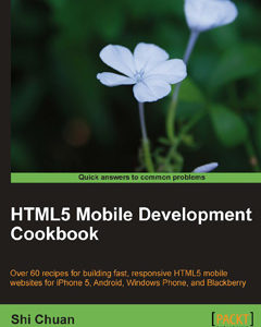 322 грн.  Html5 Mobile Development Cookbook