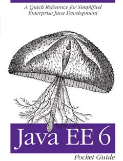 322 грн.| Java EE 6 Pocket Guide