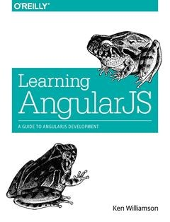 322 грн.| Learning AngularJS: A Guide to AngularJS Development 1st Edition
