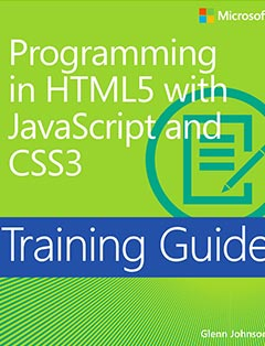 690 грн.| Training Guide: Programming in HTML5 with JavaScript and CSS3