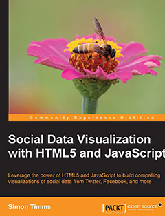 276 грн.| Social Data Visualization with HTML5 and JavaScript