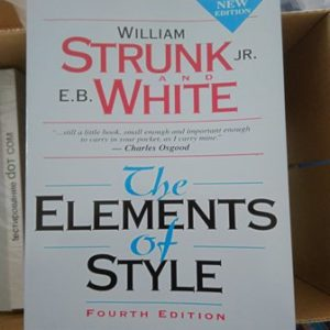The Elements of Style, Fourth Edition, William Strunk Jr., E. B. White купить