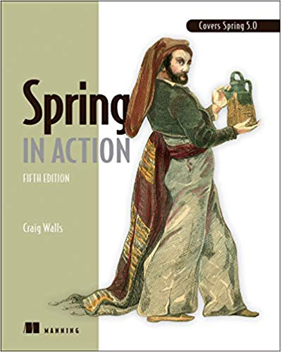 800 грн.| Spring in Action, 5th edition, Craig Walls